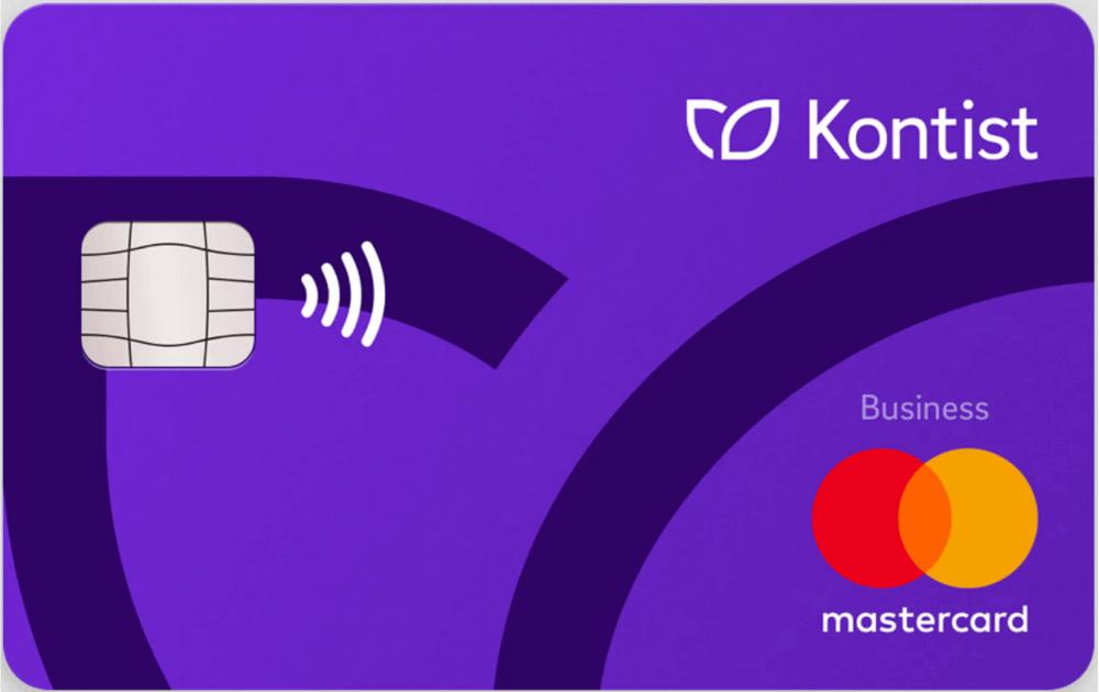Kontist Mastercard Debit