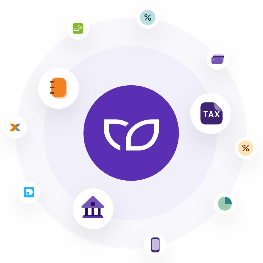Steuern, Buchhaltung und Banking in einer App